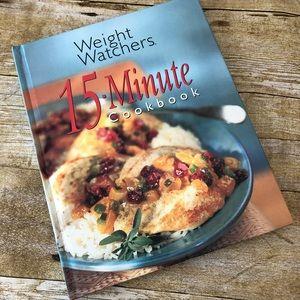 Weight Watchers 15 Minute cookbook